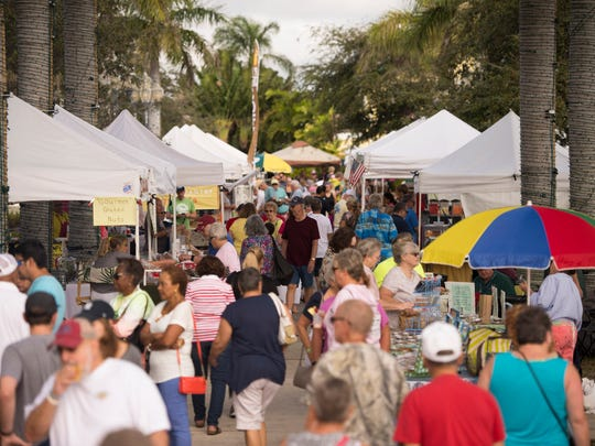 Going to the Fort Pierce Farmers Market has become part of the weekly routine for many local residents.