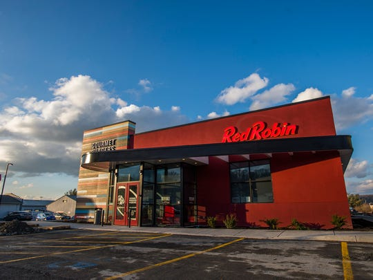 The Red Robin at 2545 Vestal Parkway East plans to