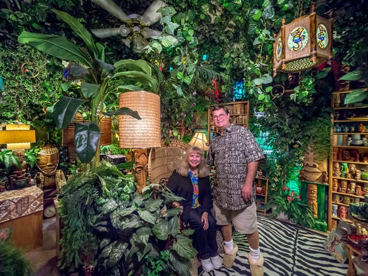 A Calif. home transformed into a temple of Tiki