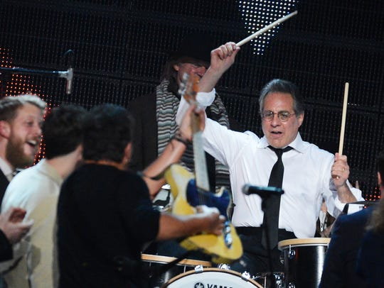 Max Weinberg performs onstage at The 2013 MusiCares