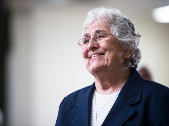 Sister Mary Rose DeDonato.