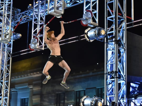 """Cape Coral teacher Morgan Wright competes in the Kansas City Qualifiers on """"American Ninja Warrior."""""""