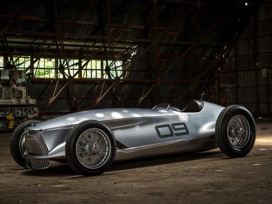 Infiniti introduces heritage-inspired prototype race car