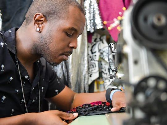 Designer Romey Roe at Coco Eros Boutique and Design
