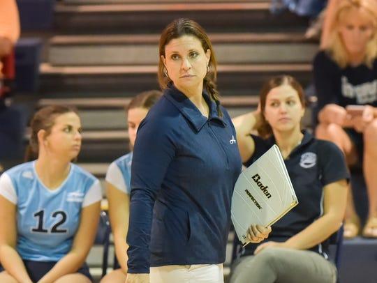 Blue Gators Head Volleyball Coach Jill Braun as Episcopal