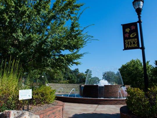 Greer City Park on Thursday, Sept. 28, 2017.