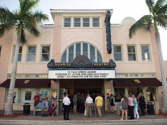 Some people claim the Sunrise Theatre in Fort Pierce is haunted and have heard mysterious piano playing and say they've been ushered to seats by people who then disappear.