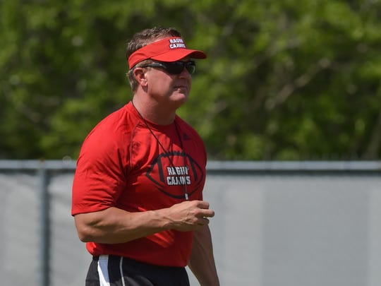 UL coach Mark Hudspeth takes his Ragin' Cajuns to Appalachian State on Saturday needing a win to become bowl-eligible.