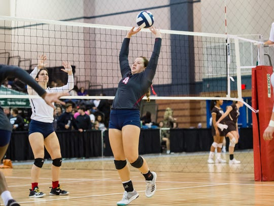 Teurlings setter Ariana Hebert is back this season after earning All-Acadiana acclaim last year. Hebert and the Lady Rebels are taking their 66-match winning streak to Las Vegas this weekend to compete in the Durango Fall Classic.