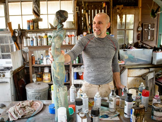 Artist Kelly Guidry discusses Open Studio Acadiana,