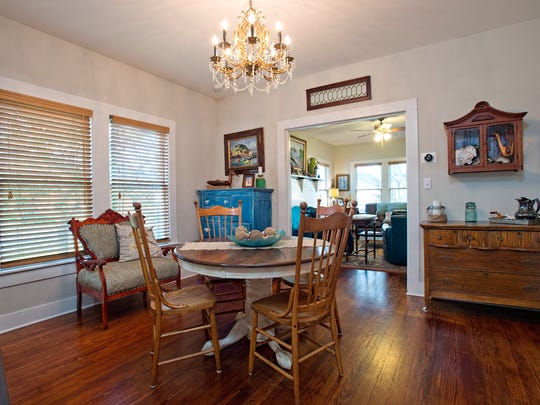 The home owners love the creaky hardwood floors that