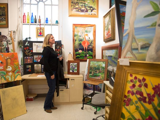 Friday is the last Gallery Stroll of the year in the