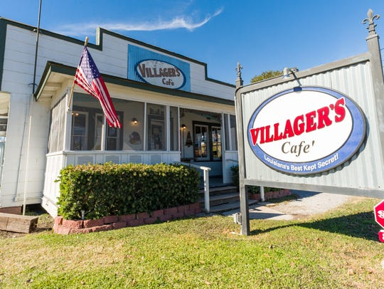 Villagers Cafe, Maurice, LA. Monday, Dec. 11, 2017.