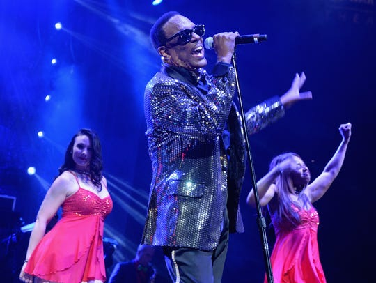 Charlie Wilson performs onstage at Barclays Center