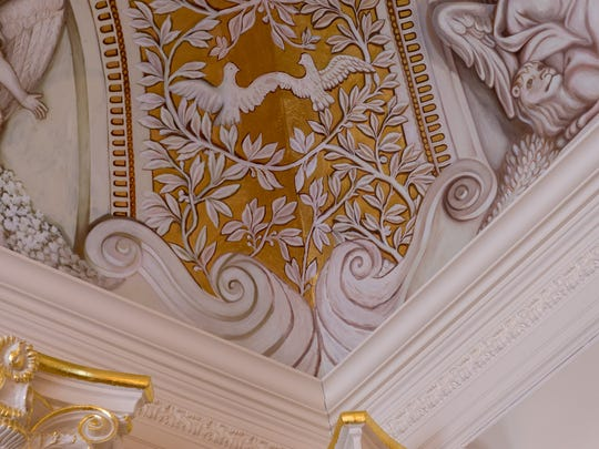 The ornate detail in every room is beyond compare.