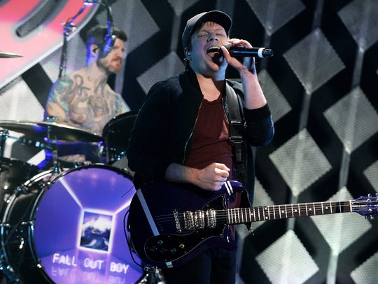 Fall Out Boy singer Patrick Stump.