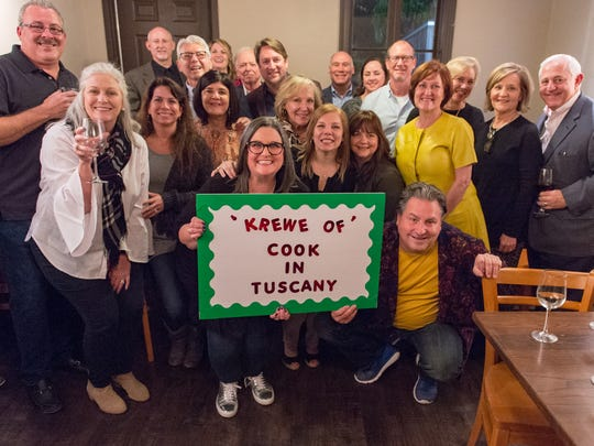 George and Linda Meyers  host Cook In Tuscany Pop-Up Party at Romacelli in Youngsville, LA. Thursday, Feb. 1, 2018.