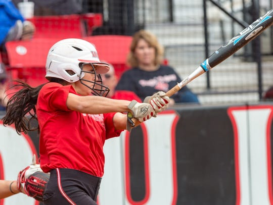 Speedy senior outfielder Kelli Martinez is expected to be a team leader for the UL Ragin' Cajuns this spring.