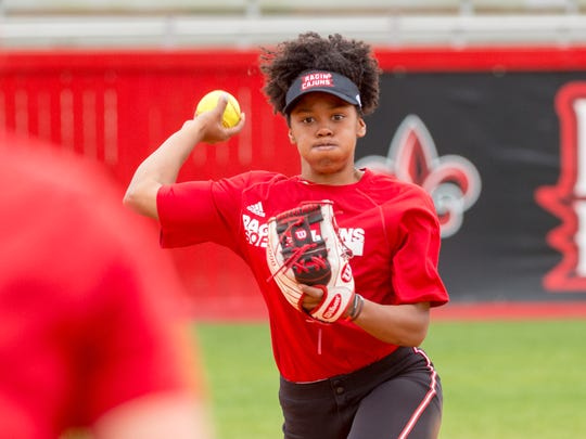 Jolie Readeaux is expected to be an option for the Cajuns at second base, first base and potentially designated player.