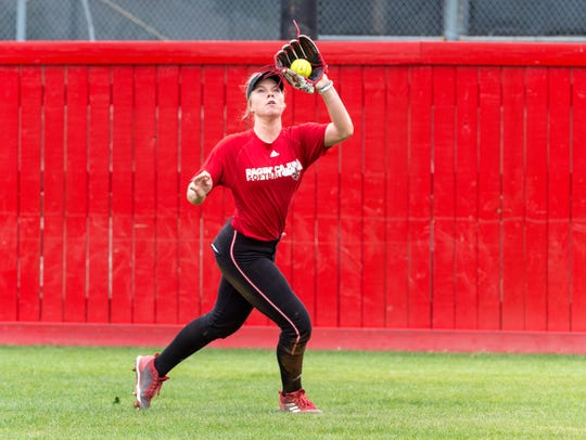 True freshman Casidy Chaumont could be an option for the Cajuns this spring in the outfield or the infield.