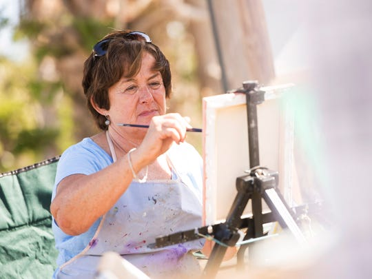 The sixth annual Plein Air Festival Quick Draw painting contest is Sunday at Flagler Park in Stuart.
