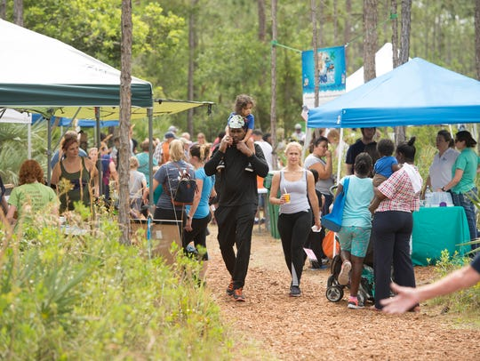 The 15th annual Earth Day Festival is 10 a.m. to 3 p.m. Saturday at Oxbow Eco-Center at 5400 N.E. St. James Drive in Port St. Lucie.