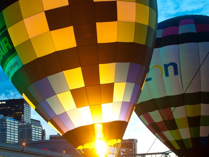 Balloons at the U.S. Bank Kentucky Derby Festival Great