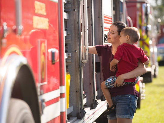 The fifth annual St. Lucie County Safety Festival is 9 a.m. to 2 p.m. Saturday outside First Data Field at 525 N.W. Peacock Blvd., in Port St. Lucie.