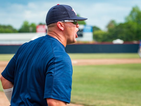 Teurlings coach Mike Thibodeaux pulls just enough strings to help his Rebels return to the state tournament after losing game one against St. Charles on Friday.