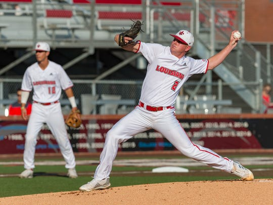 UL starter Colten Schmidt didn't get the win, but his eight quality innings set the stage for the Cajuns' 4-3 win over 10 innings on Thursday.