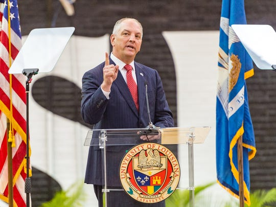 Louisiana Governor John Bel Edwards is unable to raise funds for his re-election while the Louisiana Legislature is in general session. The session began Monday.