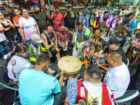 The 23rd Annual Coushatta Pow Wow in Kinder, LA. Saturday,