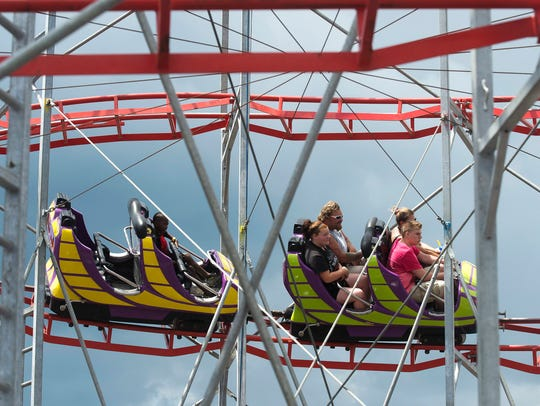 The Stars & Stripes Festival and its carnival midway