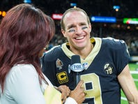 Football, family and 40 all blowing full circle for Brees, who's 1 win from Super Bowl 2