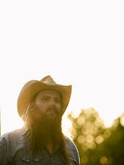 Chris Stapleton headlines a show at the BankPlus Amphitheater at Snowden Grove on Friday.