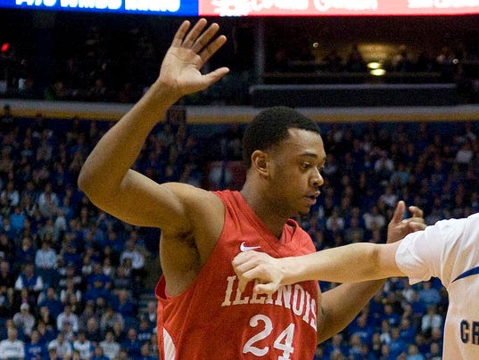 USP NCAA BASKETBALL: MISSOURI VALLEY CONFERENCE TOURNAMENT-ILLINOIS STATE VS CREIGHTON S BKC USA MO