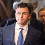 The Browns cut QB Johnny Manziel, a first-round draft pick in 2014, after two seasons.