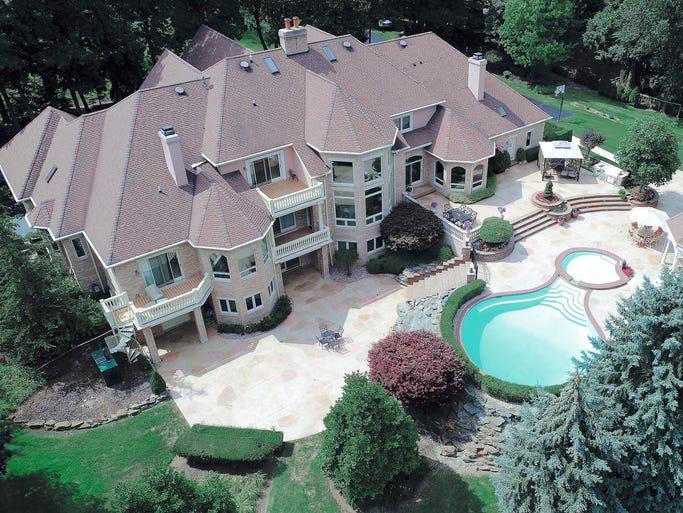 This 13,000 plus square foot home at 21080 Cambridge
