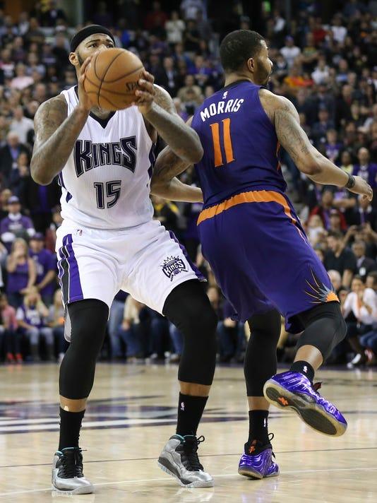 NBA: Phoenix Suns at Sacramento Kings
