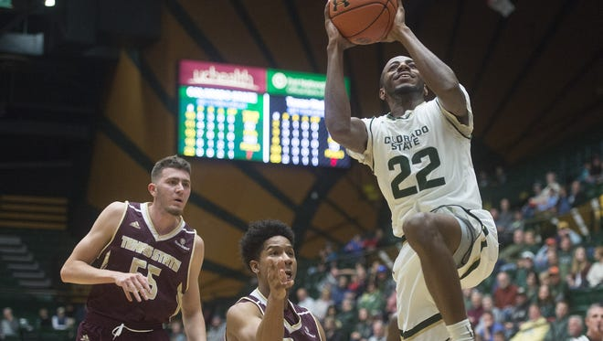 The CSU men's basketball team opens the season Nov. 7 against Colorado Christian. The Rams will also host Arkansas in nonconference play.