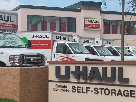 U-Haul equipment