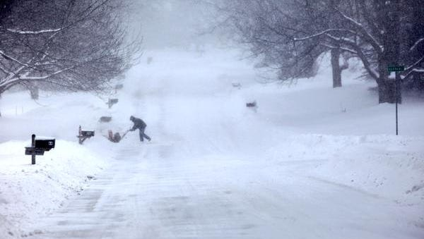 Tom Becker said his 40-year-old snow blower always starts up for him.