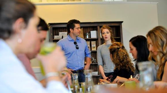 Breighanna and Taylor Newnham, owners of Everyday Organic,