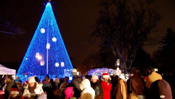 Realities For Children hosts the lighting ceremony on December 1st to raise awareness for abused, neglected, or at-risk children in Larimer County.