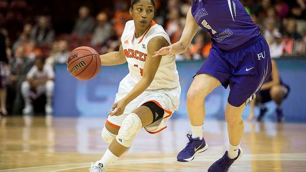 Sydni Means scored 25 points for Mercer against Furman on Friday.