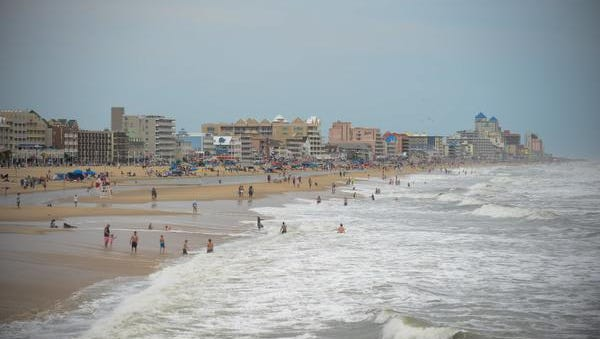 Despite rough surf caused by Tropical Storm Hermine last year, vacationers packed the Ocean City beach for the Labor Day holiday.