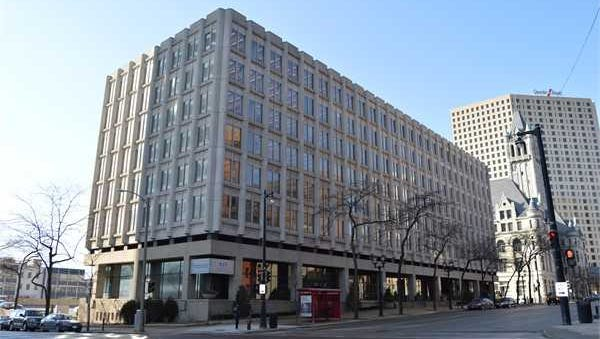 Foxconn Technology Group is buying a seven-story downtown Milwaukee office building. Northwestern Mutual is selling the building after relocating employees to other buildings, including a new office tower, on its downtown campus.