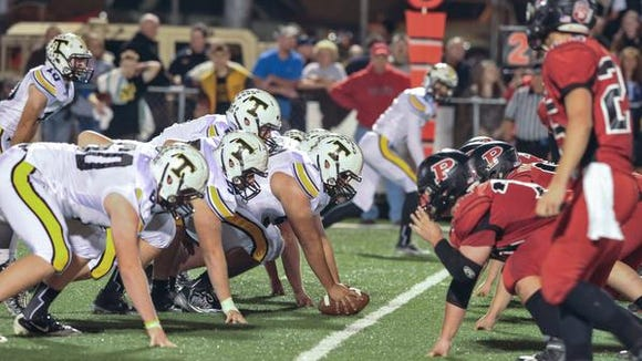 Scenes from the Tuscola at Pisgah football game Oct. 17. Tuscola athletic director Ann Gardner said the school plans to appeal to the NCHSAA to move its athletic program to 2A.