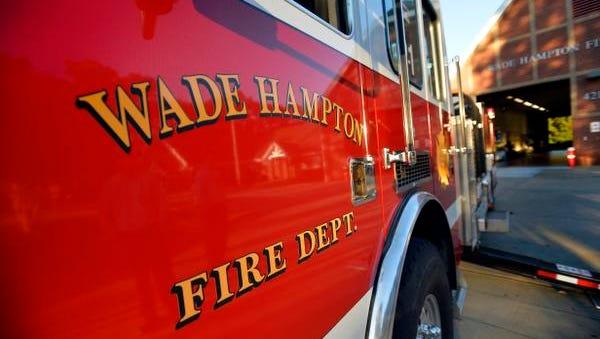 Wade Hampton Fire Department fire truck on Thursday, October 30, 2014.