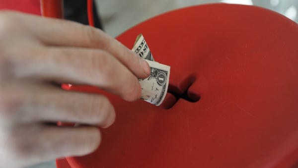 The Salvation Army's Red Kettle fundraiser will begin Thursday at County Market in Wausau.